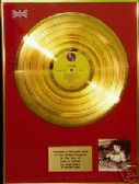 MADONNA  -  LP  24 Carat Gold Disc    -  LIKE A VIRGIN